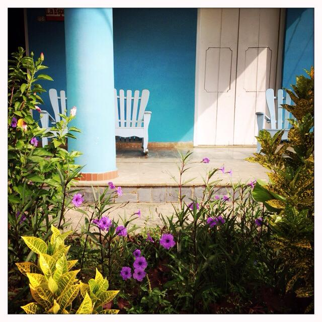 The beautiful porches of Vinales
