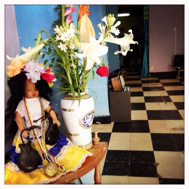 Inside my salsa teacher's salon in Havana