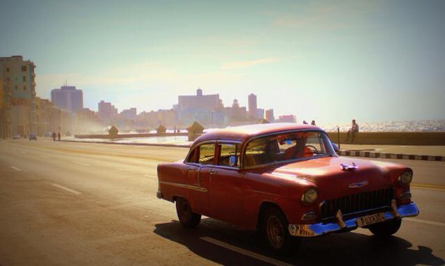 Havana's corniche looks like an older, more beautiful version of Alexandria.