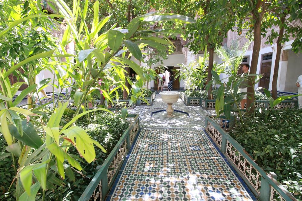 Stunning Bahia Palace's sweet smelling orange garden
